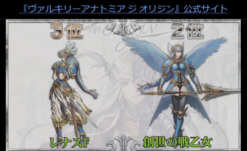 レナスF、創世の戦乙女